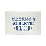 Mathias Rectangle Magnet (10 pack)