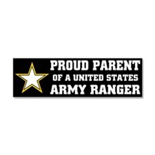 Cute Army ranger wife Car Magnet 10 x 3