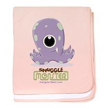 Cute Kraken baby blanket