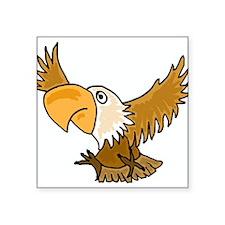 Funky Eagle Art Sticker