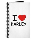 I love Karley Journal