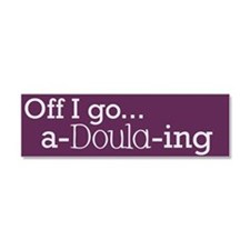 Unique Doula Car Magnet 10 x 3
