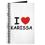 I love Karissa Journal