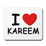I love Kareem Mousepad