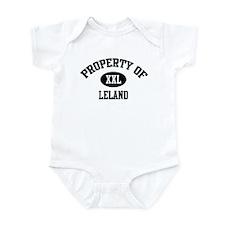 Property of Leland Infant Bodysuit