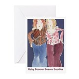 baby boomer bosombuddies greetingcards