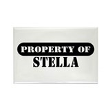 Property of Stella Rectangle Magnet (10 pack)