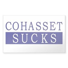 Cohasset Sucks Decal