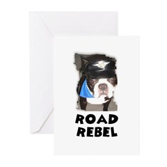 ROAD REBEL CHRISTMAS Greeting Cards (Pk of 10)