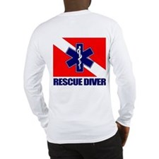 Rescue Diver (emt) Long Sleeve T-Shirt
