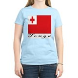 Tonga Women's Pink T-Shirt