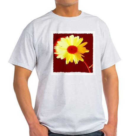 Hot Daisy Ash Grey T-Shirt