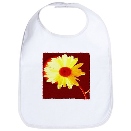 Hot Daisy Bib