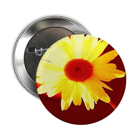 "Hot Daisy 2.25"" Button (100 pack)"