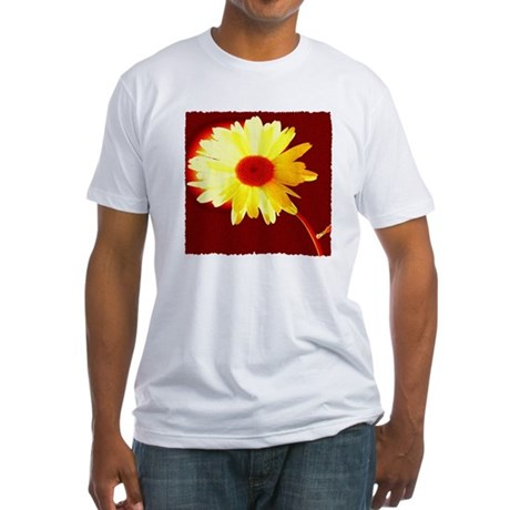 Hot Daisy Fitted T-Shirt