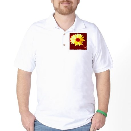 Hot Daisy Golf Shirt