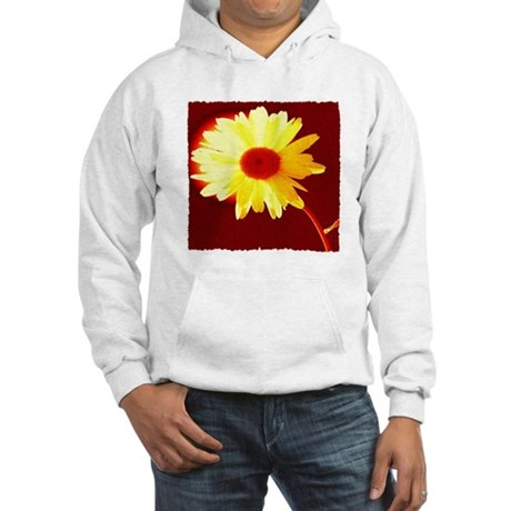 Hot Daisy Hooded Sweatshirt