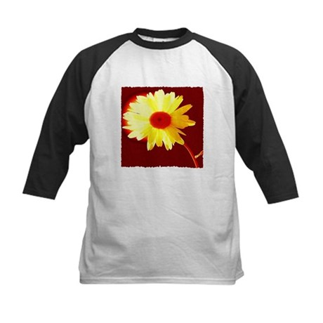 Hot Daisy Kids Baseball Jersey