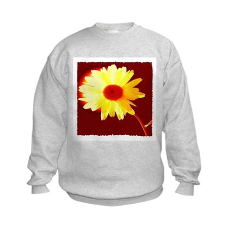 Hot Daisy Kids Sweatshirt