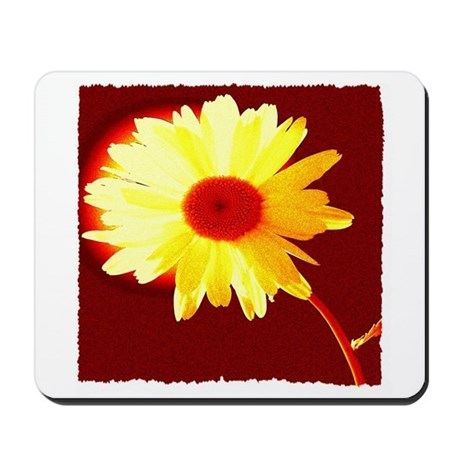 Hot Daisy Mousepad