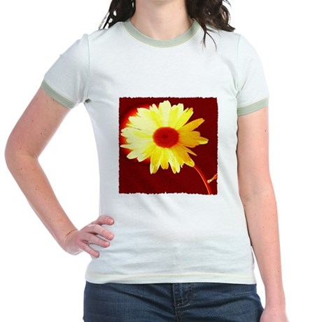 Hot Daisy Jr. Ringer T-Shirt