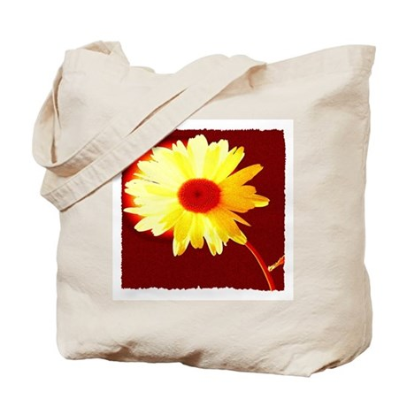 Hot Daisy Tote Bag