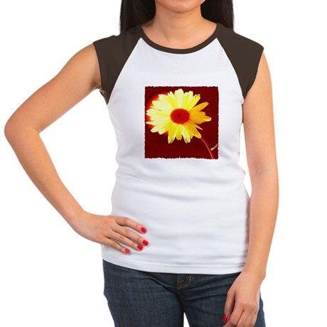 Hot Daisy Women's Cap Sleeve T-Shirt