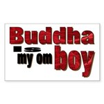 Buddha Rectangle Sticker