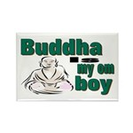 Buddha Rectangle Magnet