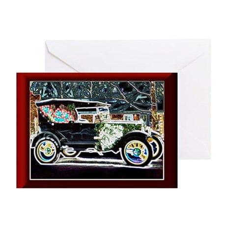 Holiday Antique Car Greeting Cards (Pk of 10)