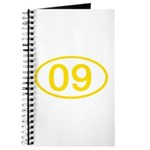 Number 09 Oval Journal