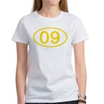 Number 09 Oval Women's T-Shirt