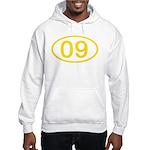 Number 09 Oval Hooded Sweatshirt