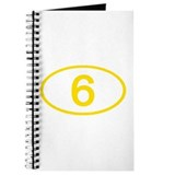 Number 6 Oval Journal