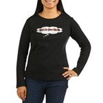 Buddha Women's Long Sleeve Dark T-Shirt