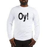 Funny Yiddish Long Sleeve T-Shirt