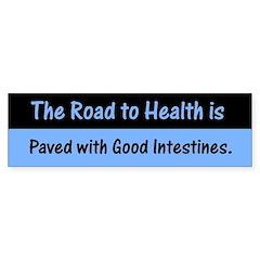 Road to Health Bumper Sticker