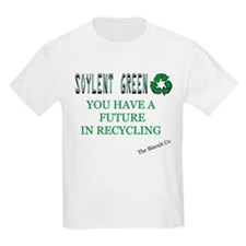 Soylent Green Recycling Kids T-Shirt