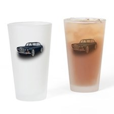 Jaguar XJ6 Drinking Glass