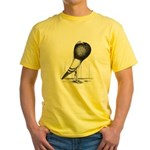 Swing Pouter Pigeon Yellow T-Shirt