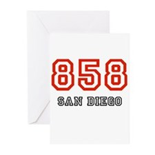 858 Greeting Cards (Pk of 10)