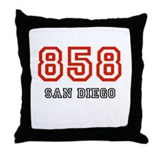 858 Throw Pillow