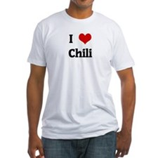 I Love Chili Shirt
