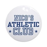 Nico Ornament (Round)