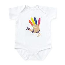 beach girl turkey Infant Bodysuit