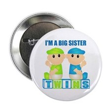 I'm A Big Sister (BBB:blk) Button
