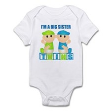I'm A Big Sister (BBB:blk) Infant Bodysuit