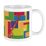 Bass Clarinet Colorblocks Small Mug