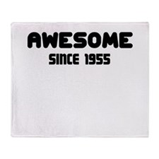AWESOME SINCE 1955 Throw Blanket