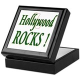 Hollywood Rocks ! Keepsake Box